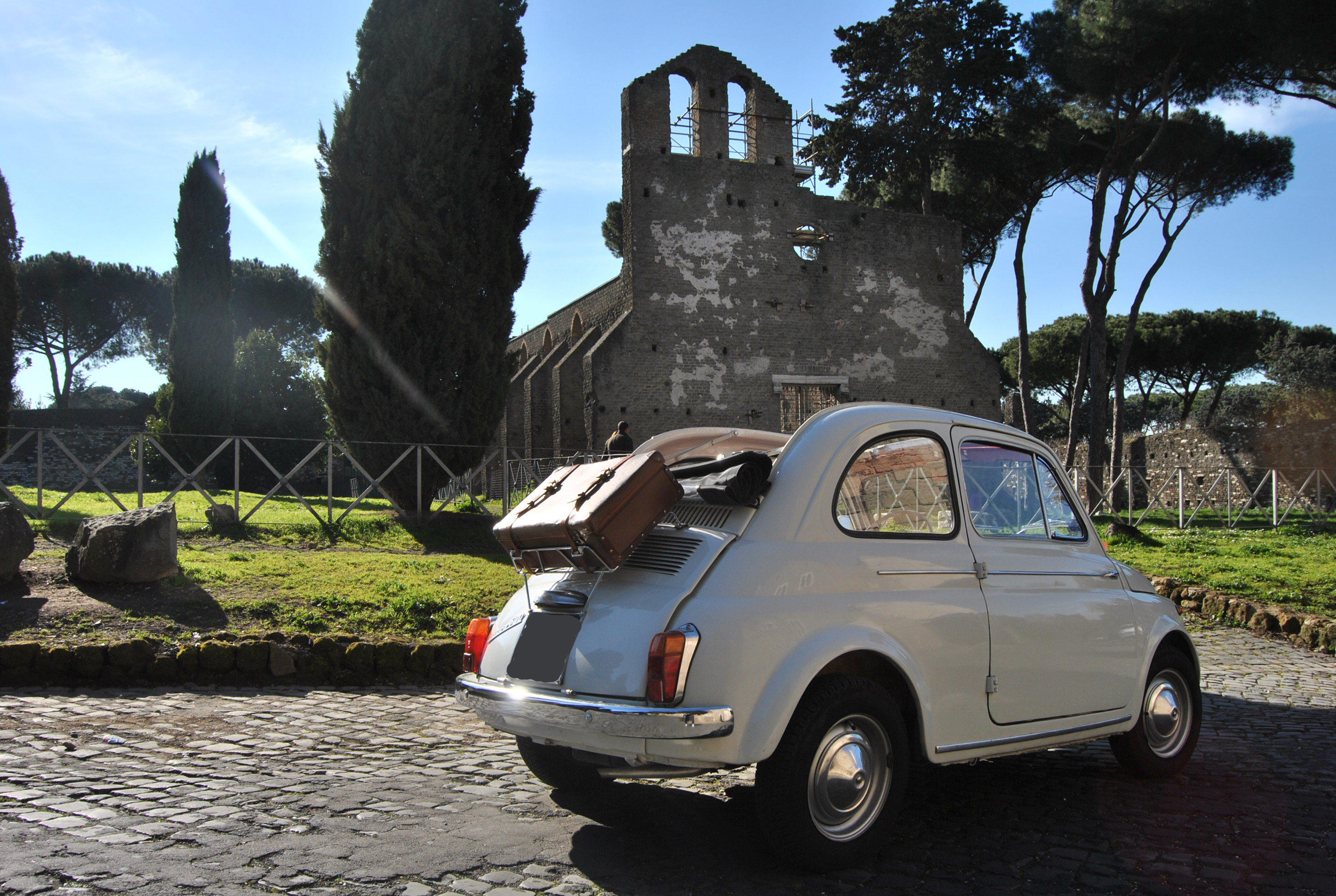 noleggio fiat 500 d e tricolore auto d 39 epoca per matrimoni e cerimonie a roma roma provincia. Black Bedroom Furniture Sets. Home Design Ideas