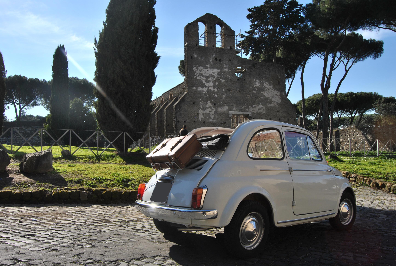 Noleggio Fiat 500 D e tricolore - Auto d'epoca per ...