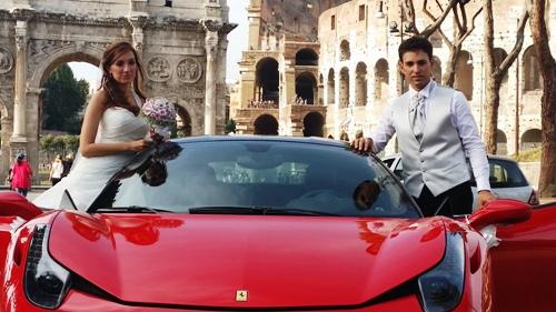 Matrimonio In Ferrari : Noleggio ferrari f italia